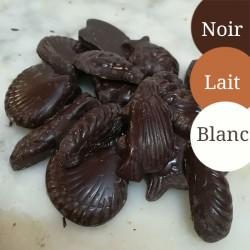 Friture, sachet de 250g Noir/Lait/Blanc